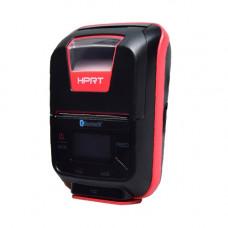 Принтер чеков HPRT HM-E200 мобільний, Bluetooth, USB, червоний+чорний (14657)