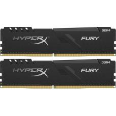 Модуль памяти DDR4 64GB (32GB x 2) 3200MHz Kingston HyperX Fury Black (HX432C16FB3K2/64)
