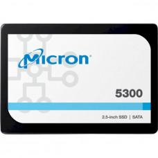 """Жесткий диск для сервера 1.92TB SATA 6Gb/s 5300 MAX Enterprise SSD, 2.5"""" 7mm MICRON (MTFDDAK1T9TDT-1AW1ZABYY)"""