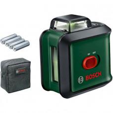 Лазерный нивелир BOSCH UniversalLevel 360 Basic, 24м, зеленый луч (0.603.663.E00)