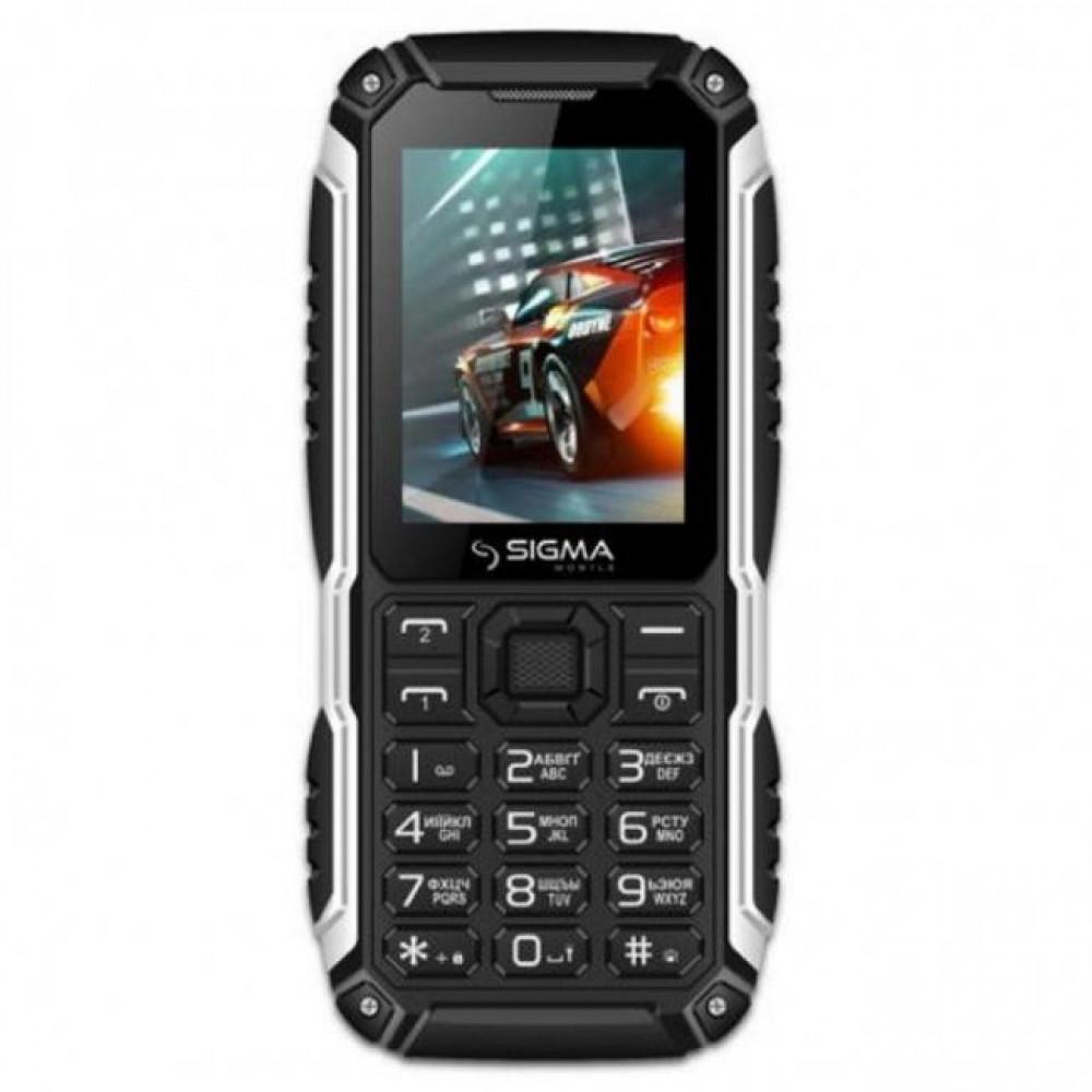 Мобильный телефон Sigma X-treme PT68 (4400mAh) Black (4827798855515)