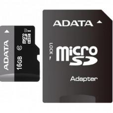 Карта памяти ADATA 16GB microSD class 10 UHS-I (AUSDH16GUICL10-RA1)