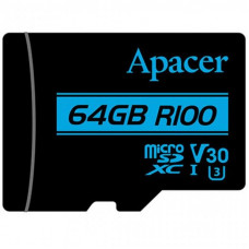 Карта памяти Apacer 128GB microSDHC class 10 UHS-I U1 V10 (AP128GMCSX10U7-R)