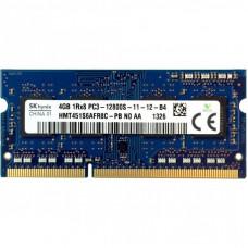 Модуль памяти для ноутбука SoDIMM DDR3 4GB 1600 MHz Hynix (HMT451S6AFR8C-PB)