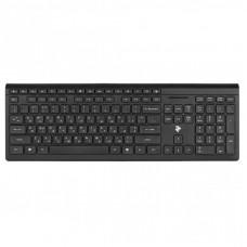 Клавиатура 2E KS210 Slim Wireless Black (2E-KS210WB)