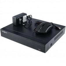 Регистратор для видеонаблюдения GreenVision GV-N-E004/9 (4949)