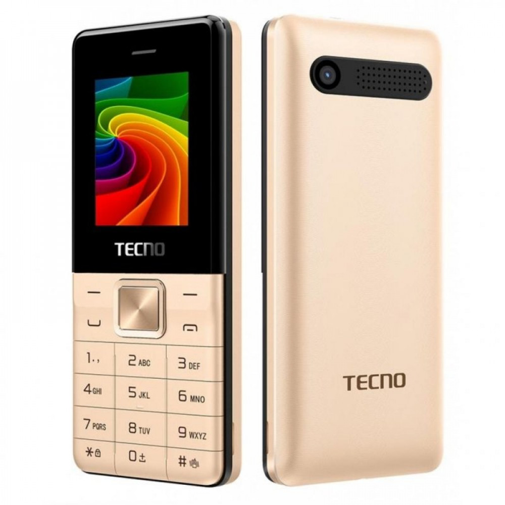 Мобильный телефон TECNO T301 Champagne Gold (4895180743337)