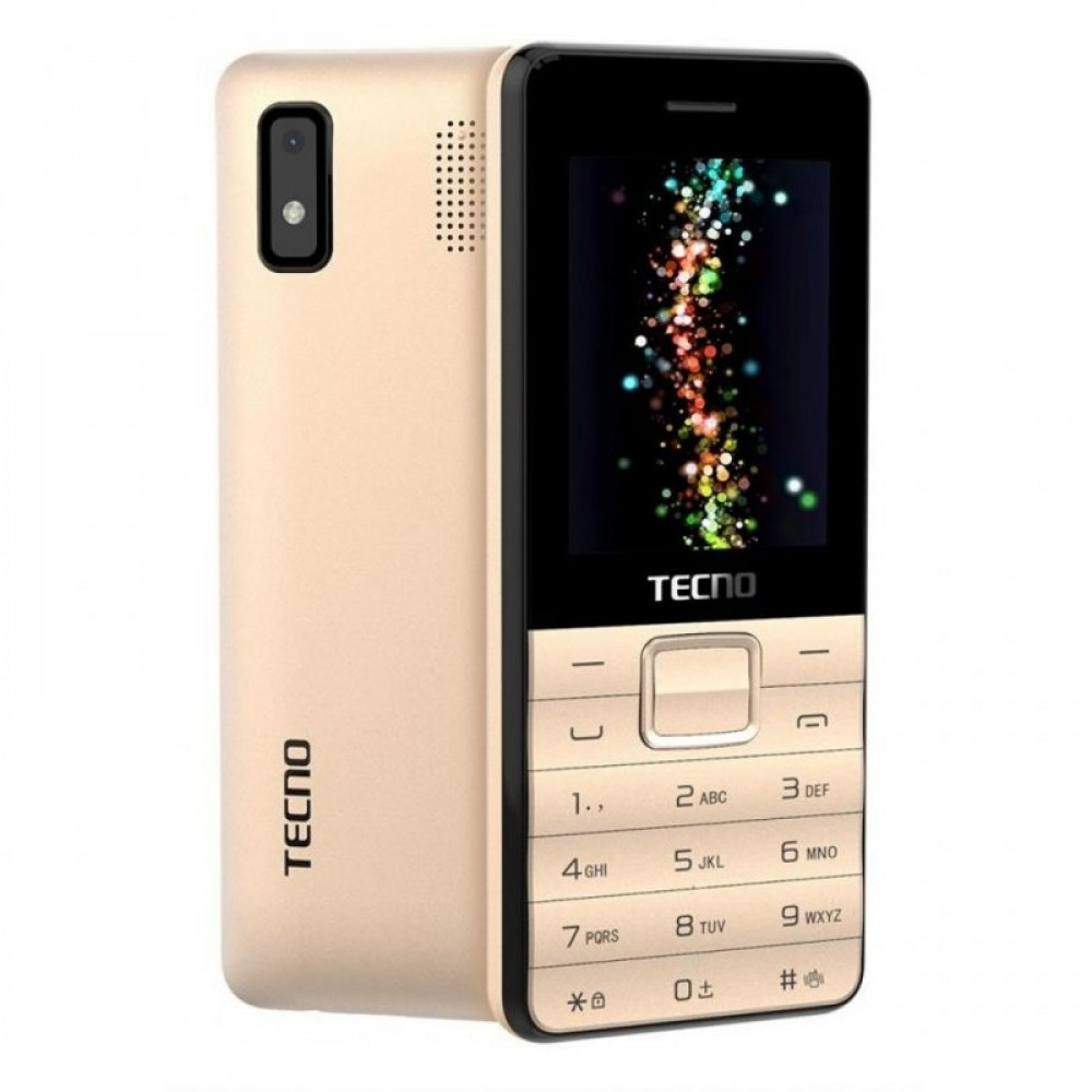 Мобильный телефон TECNO T372 TripleSIM Champagne Gold (4895180746840)