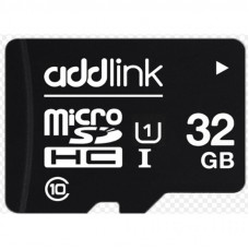 Карта памяти AddLink 32GB microSDHC class 10 UHS-I U1 (ad32GBMSH310)