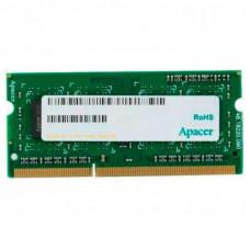 Модуль памяти для ноутбука SoDIMM DDR3 4GB 1600 MHZ Apacer (DS.04G2K.KAM)