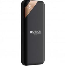Батарея универсальная CANYON 5000mAh, Input 5V/2A, Output 5V/2.1A, Black (CNE-CPBP5B)