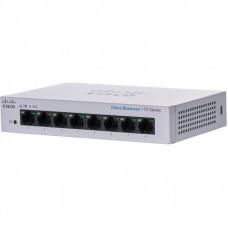 Коммутатор сетевой Cisco CBS110-8T-D-EU