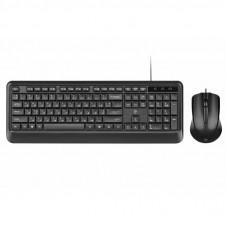 Комплект 2E MK404 USB Black (2E-MK404UB)