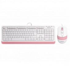 Комплект A4Tech F1010 Pink