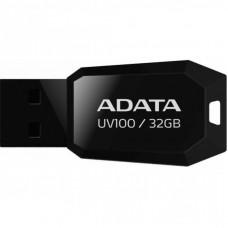 USB флеш накопитель ADATA 32GB DashDrive UV100 Black USB 2.0 (AUV100-32G-RBK)