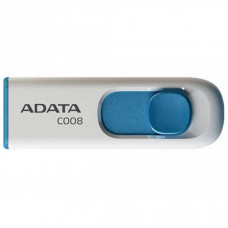 USB флеш накопитель ADATA 32GB C008 White USB 2.0 (AC008-32G-RWE)