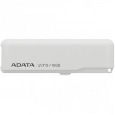 USB флеш накопитель ADATA 16GB UV110 White USB 2.0 (AUV110-16G-RWH)