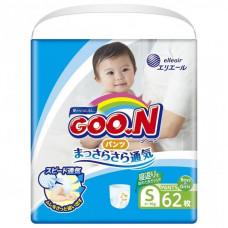 Подгузник GOO.N Трусики для активных детей 4-9 кг (унисекс, 62 шт) (853625)