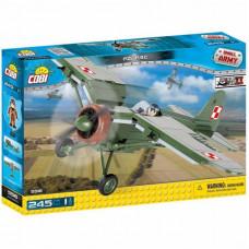 Конструктор Cobi Вторая Мировая Война Самолет PZL P.11C, 245 деталей (COBI-5516)