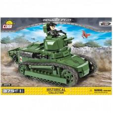 Конструктор Cobi Танк Рено ФТ-17 375 деталей (COBI-2973)