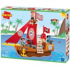 Конструктор Ecoiffier Корабль с пиратами (003023)