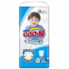 Подгузник GOO.N 12-20 кг, XL, 38 шт для мальчиков (843098)