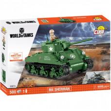 Конструктор Cobi World Of Tanks Шерман Файрфлай 500 деталей (COBI-3007A)