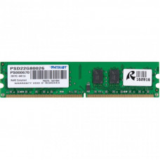 Модуль памяти для компьютера DDR2 2GB 800 MHz Patriot (PSD22G80026)