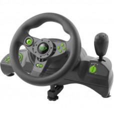 Руль Esperanza PC/PS3 Black-Green (EGW102)