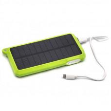 Батарея универсальная PowerPlant 10000mAh 1*USB/1A 1*USB/2A Solar 15V/200mA (PB-SS002G)