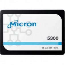 """Жесткий диск для сервера 1.92TB SATA 6Gb/s 5300 PRO Enterprise SSD, 2.5"""" 7mm MICRON (MTFDDAK1T9TDS-1AW1ZABYY)"""