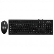 Комплект A4tech KRS-8572 USB Black