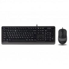 Комплект A4tech F1010 Grey