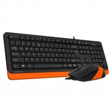 Комплект A4tech F1010 Orange