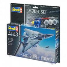 Сборная модель Revell Истребитель F-14D «Томкэт» 1:100 (4009803639505)