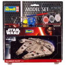 Сборная модель Revell Космический корабль Тысячелетний Сокол уровень 3, 1:241 (RVL-63600)