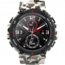 Смарт-часы Amazfit T-Rex Army Camo Green