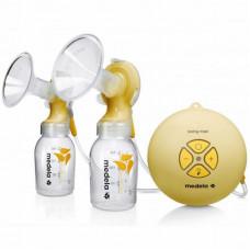 Молокоотсос Medela Двухфазный электрический Swing Maxi + Кальма (смарт соска) (040.0013)