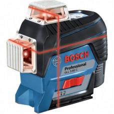 Лазерный нивелир BOSCH GLL 3-80 C + BM 1 (12 V) + L-Boxx (0.601.063.R02)