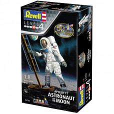 Сборная модель Revell Астронавт на Луне. Миссия Аполлон 11; 1:8 (4009803895253)
