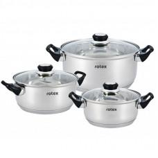 Набор посуды Rotex Bergamo 6 предметов (RC011-6L)