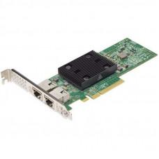Сетевая карта Dell Broadcom 57416 2x10Gbit Base-T PCIe (540-BBUO)