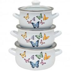 Набор посуды Infinity Butterflies 6 предметов (6516432)