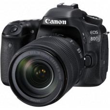 Цифровой фотоаппарат Canon EOS 80D 18-135 IS nano USM (1263C040)