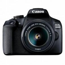 Цифровой фотоаппарат Canon EOS 2000D 18-55 IS II kit + сумка + SD 16GB (2728C015)