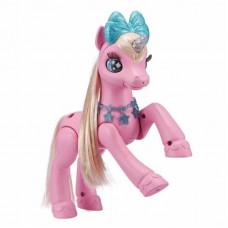 Интерактивная игрушка Pets & Robo Alive Pets Alive Розовый единорог в домике (9502P)