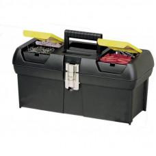 Ящик для инструментов Stanley 31,8x17,8x13см металевий замок (1-92-064)