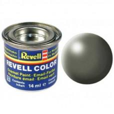 Аксессуары для сборных моделей Revell Краска № 362 Серовато-зеленая шелково-матовая, 14 мл (RVL-32362)