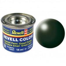 Аксессуары для сборных моделей Revell Краска № 363 Темно-зеленая шелково-матовая, 14 мл (RVL-32363)