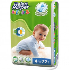 Подгузник Helen Harper Soft&Dry Maxi 7-18 кг 72 шт (5411416060192)